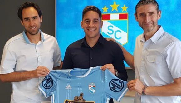 Alejandro Hohberg firmó contrato por dos temporadas con club rimense. (Foto: Sporting Cristal)