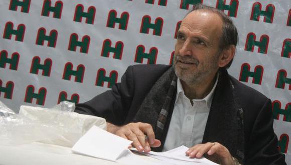 Yehude Simon pide apoyo de sociedad civil. (USI)