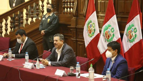 La Mesa Directiva, presidida por Manuel Merino, ampliará la legislatura que iba a terminar el 26 de junio. (Foto: Congreso)