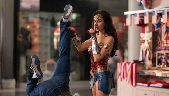 """Gal Gadot en una escena de """"Wonder Woman 1984"""". (Foto: Warner Bros)"""