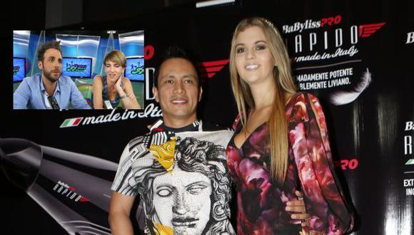 Brunella Horna defiende a su novio de críticas. (USI)