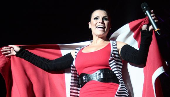 Olga Tañón participará en el Festival Música Perú. (USI)