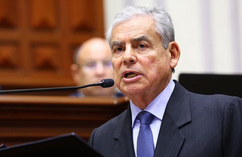 César Villanueva aseguró que el Gobierno se enfocará en la descentralización, la educación, salud y la violencia contra la mujer. (Foto: USI)