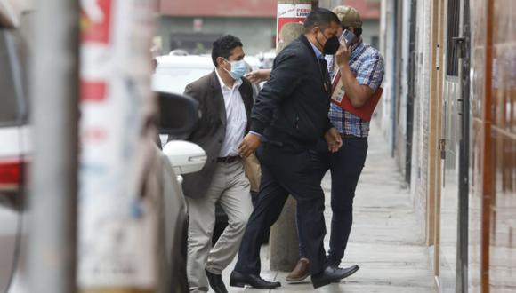 Vladimir Cerrón indicó que respeta la autonomía de la bancada de Perú Libre. (Foto: Diana Marcelo/ @photo.gec)