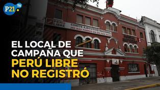 Alvaro Reyes sobre el local de campaña que Perú Libre no registró