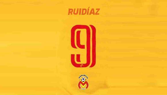Raúl Ruidíaz fue tricampeón de goleo en la Liga MX con Monarcas Morelia. (Foto: Monarcas Morelia)
