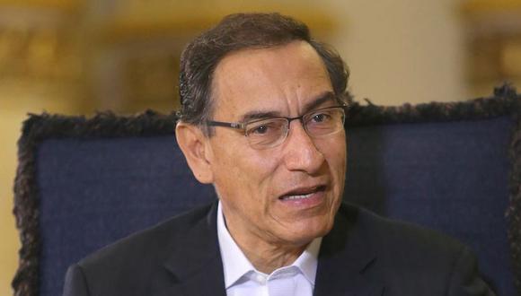 El presidente Martín Vizcarra prefirió no adelantarse y no opinar sobre la posibilidad de otorgar o negar un salvoconducto en caso se diera el asilo. (Foto: USI)