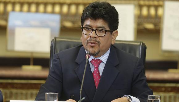 Teófilo Gamarra indicó que la comisión especial, que preside el fujimorista Daniel Salaverry, no es ni objetiva, ni neutral. (Atoq Ramón/Perú21)