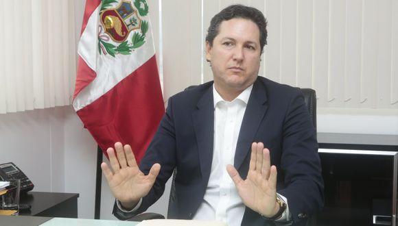 Daniel Salaverry. (Diana Chávez/ Gestión)