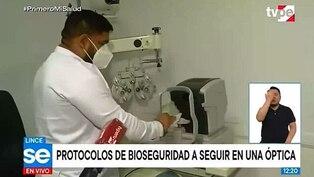 Protocolo de bioseguridad por COVID-19 para atención de Ópticas