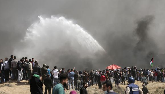 40 de las 132 instalaciones de agua y saneamiento solo tienen reservas para los próximos dos días. (Foto: AFP)