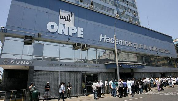 La jefatura de Verificación y Control de la ONPE ofreció su reporte. (USI)