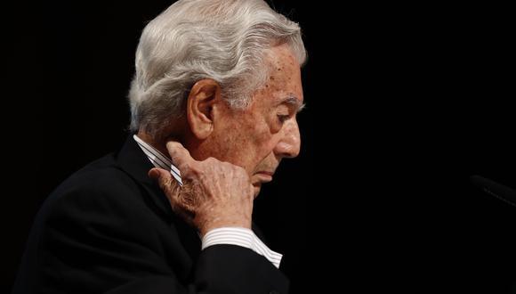 Mario Vargas Llosa reiteró su respaldo a Keiko Fujimori (Efe).