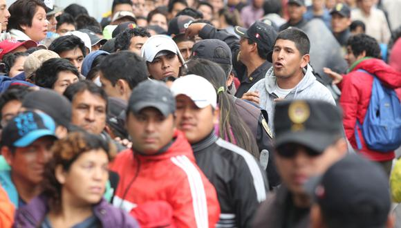 Las entradas para el Perú-Colombia se agotaron en poco más de tres horas. (USI)