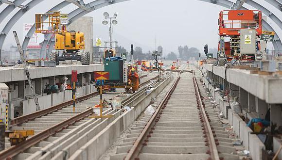 El riesgo geológico en la Línea 2 del Metro de Lima está acotado. (USI)