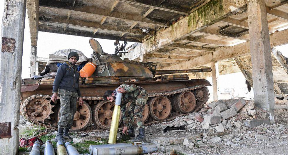 Los ciudadanos son los más perjudicados luego que las actividades militares se hayan retomado en los últimos días. (AFP).