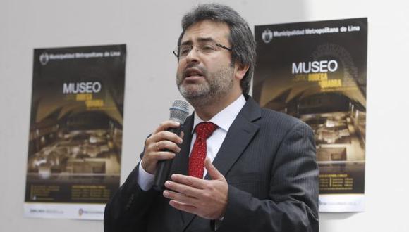 Jiménez se refirió a posibilidad de que Alberto Fujimori use grillete. (Mario Zapata)