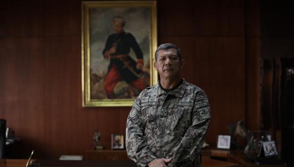 Céliz dijo que esta nueva coyuntura debido al COVID-19, incentiva al Ejército a generar nuevas estrategias, reinventarse, y seguir transformándose, en su obligación por defender la vida de los peruanos. (Foto: GEC)