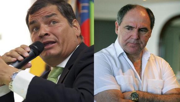 Bucaram utiliza su cuenta de Twitter para lanzar ataques contra Rafael Correa. (Reuters/Internet)