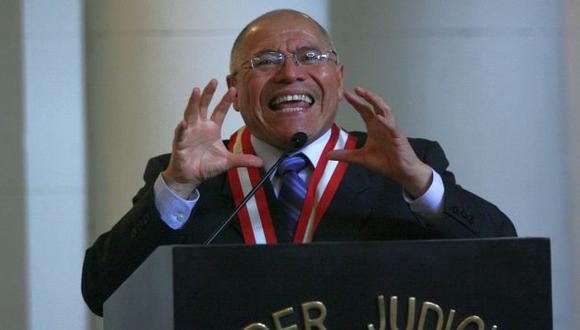 El Consejo Nacional de la Magistratura podría suspenderlo si fuera hallado culpable. (Perú21)