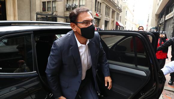 Martín Vizcarra está inhabilitado por 10 años para ejercer la función pública, por el caso 'Vacunagate'. (GEC)