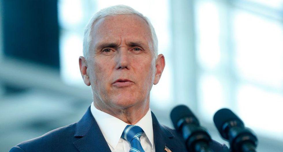 Mike Pence visitará la frontera con México y un centro de detención de migrantes. (AFP)