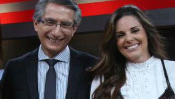Federico Salazar se 'burló' de Rebeca Escribens en vivo. (USI)