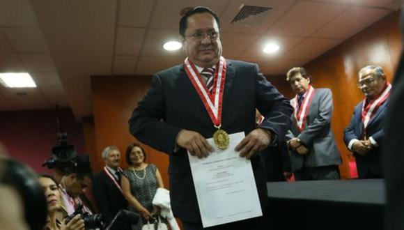 Luis Arce Córdova, destituido como fiscal supremo, afronta una investigación por supuesto enriquecimiento ilícito. (Foto: GEC)