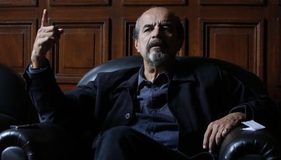 ¿Por qué hace eso Vicente Zeballos? Porque pertenece a la bancada de PPK, dice Mauricio Mulder. (Anthony Niño de Guzmán)
