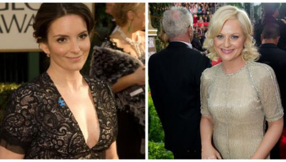 Ambas actrices trabajaron en Saturday Night Live. (Golden Globe)