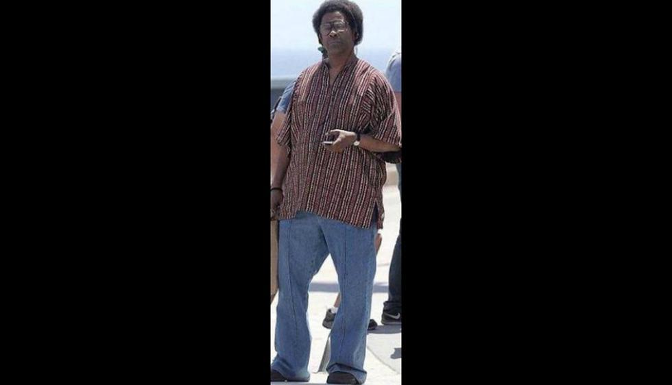 Denzel Washington reapareció con radical cambió de look (Difusión)