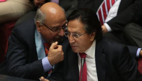 Luis Lamas Puccio afirma que Alejandro Toledo se encuentra tranquilo. (Perú21)