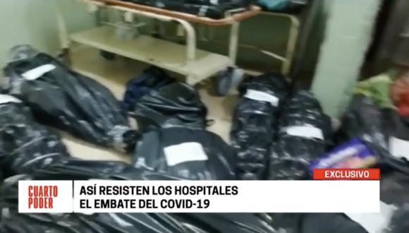 Coronavirus en el Perú: Muertos en los pasillos y frigoríficos: este es el estado de los hospitales en el Perú [VIDEO]  COVID-19   Pandemia   PERU   PERU21