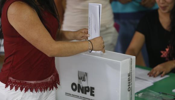 Elecciones 2018 (Rafael Cornejo/Perú21)