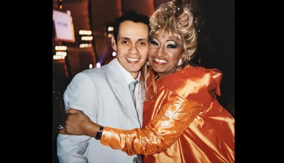 "El intérprete de ""Flor pálida"" emocionó a sus fans tras recordar a la ""reina de la salsa"" (Foto:@marcanthony)"