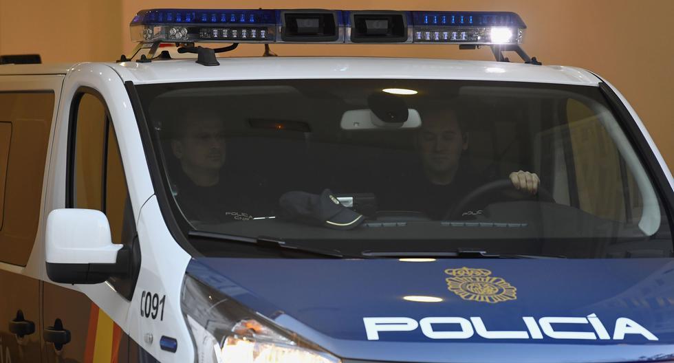 Imagen de la policía española. (Foto referencial, AFP).