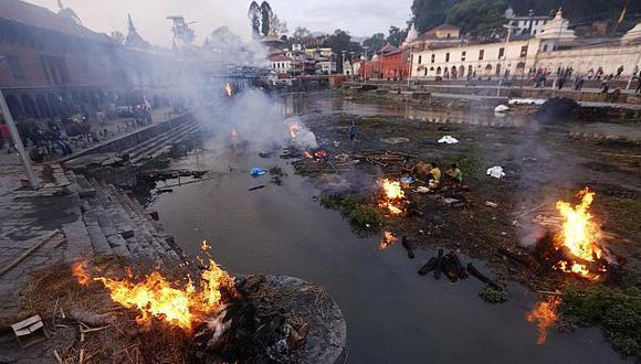 Son 454,769 las personas desplazadas en Nepal. (EFE)