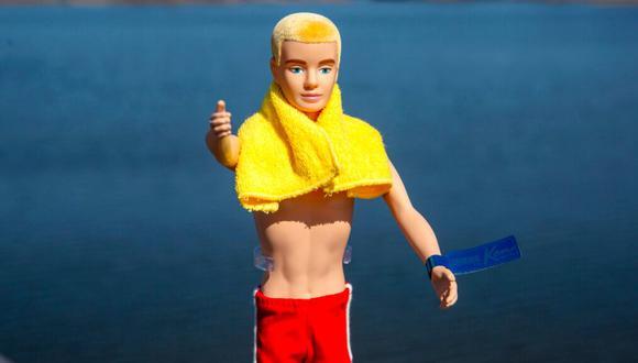 Una reproducción del muñeco Ken original lanzado en 1961.  (AP)