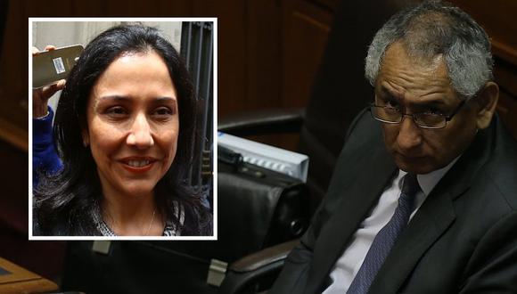 René Cornejo admite que coordinó con Nadine Heredia tema de voto de investidura en el Parlamento. (Perú21)
