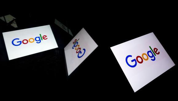 En esta foto de archivo tomada el 16 de febrero de 2019, una imagen ilustrativa muestra el logotipo de Google de la empresa multinacional estadounidense de tecnología y servicios relacionados con Internet en una tableta en París. ¿Una cuenta bancaria de Google?. (AFP/Lionel BONAVENTURE).