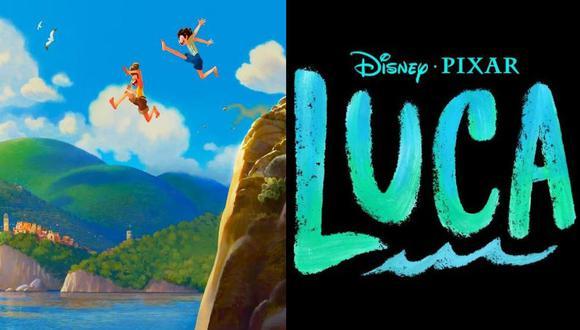 """""""Luca"""", la nueva película de animación de Disney y Pixar. (Foto: Twitter/Disney/Pixar)"""