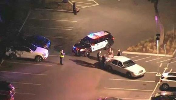 La amenaza de bomba la recibió el Departamento de Policía de Nueva York. (Foto: Captura de TV)