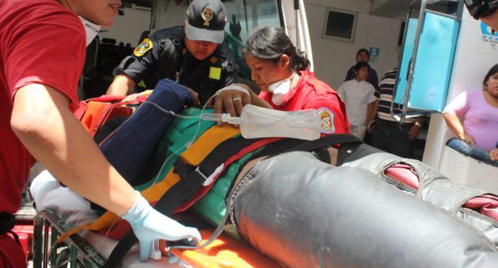 Menor falleció camino al hospital materno infantil de Canto Grande. (USI/Referencial)