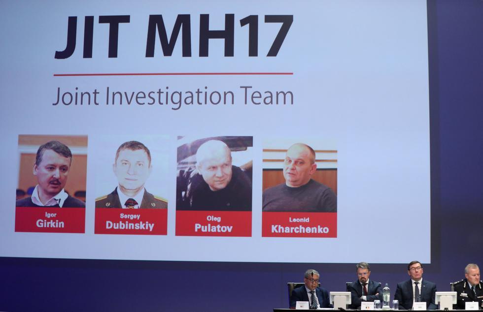 El Equipo Internacional de Investigación del derribo del avión de Malaysia Airlines MH17 anunció que llevará a juicio a cuatro posibles sospechosos del ataque ocurrido en el este de Ucrania en 2014. (Foto: Reuters)