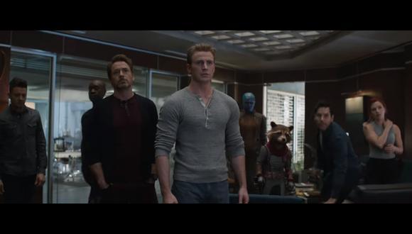 """""""Avengers: Endgame"""": Marvel Studios lanza tráiler durante el inicio de ventas de entradas (Foto: Captura de pantalla)"""