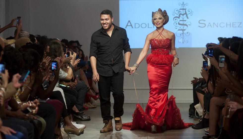 La cantante debutó en el New York Fashion Week. (EFE)