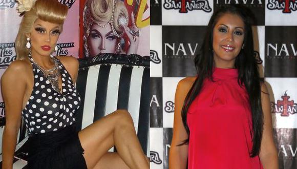 Karla Tarazona se transformó en drag, debido a que participará en el Valetodo Fest The Drag Edition, que se celebrará este 26 y 27 de mayo, en el Jockey Club del Perú. (Composición)
