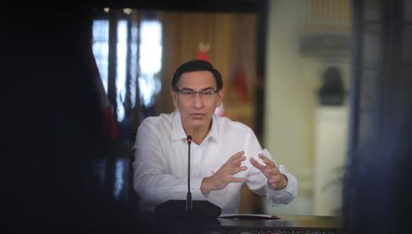 Vizcarra anuncia vacunas pero no dice nada de la fallida estrategia