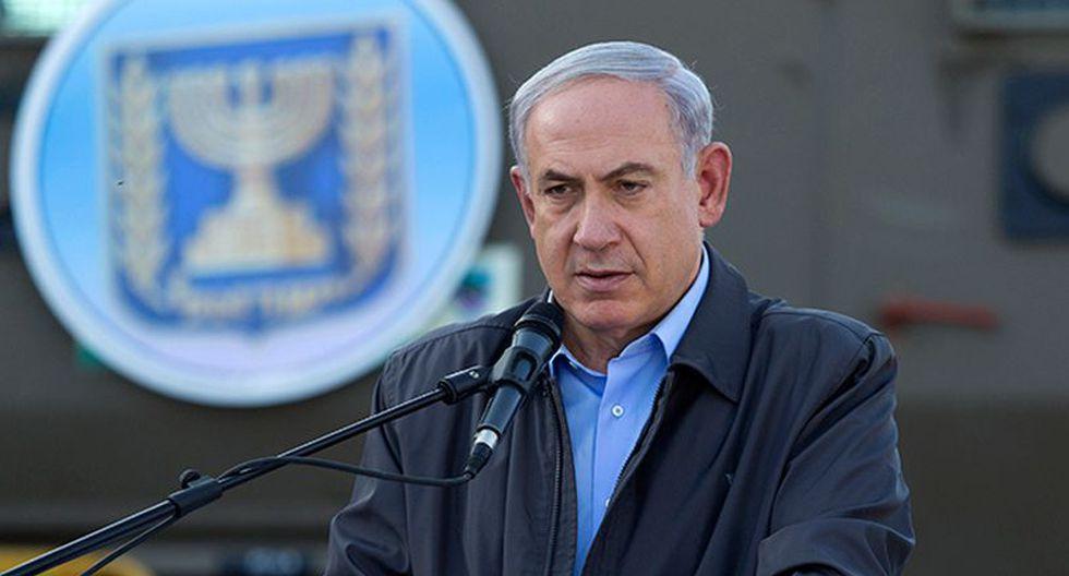 """""""Esta decisión es importante y nosotros la apoyamos"""", afirmó Benjamin Netanyahu. (Foto: AFP)"""