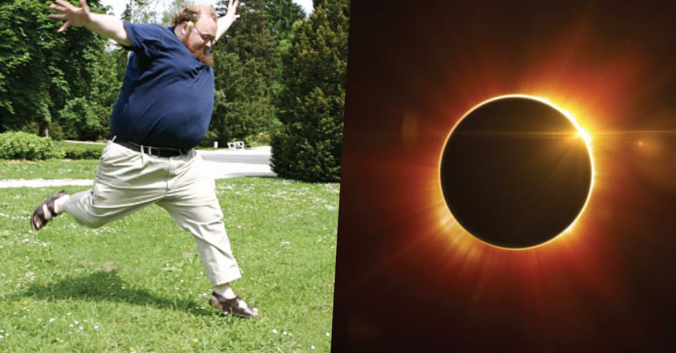 Eclipse solar: Mañana volveremos a bajar de peso sin dietas ni ejercicios ¿por qué? (Composición)